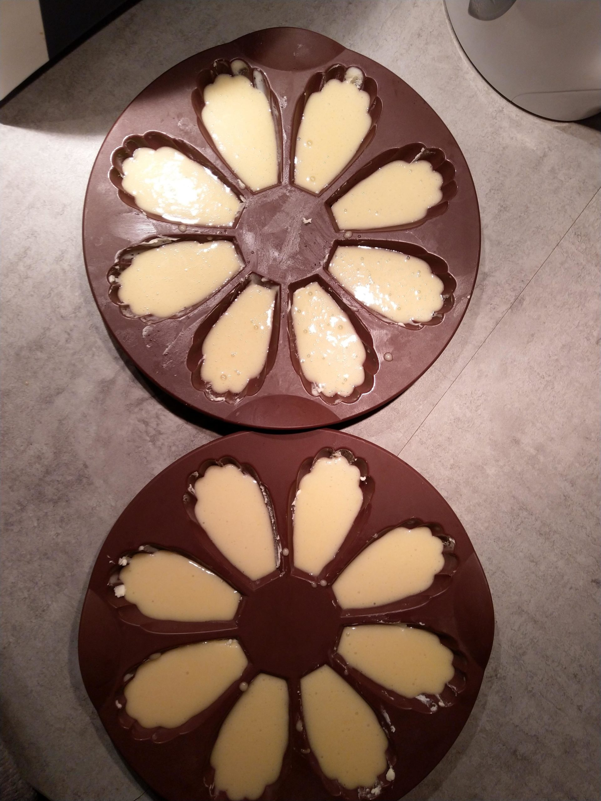 madeleines à cuire