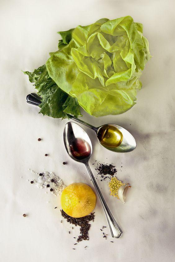 Photo de Irving Penn - Salad dressing